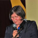Schulleiterin Frau Kleimann bei der Abschlussrede