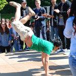 ... akrobatischer Höchsleistung