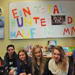 SchülerInnen der Multi-Nationalen Klasse