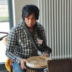 ein Percussionist